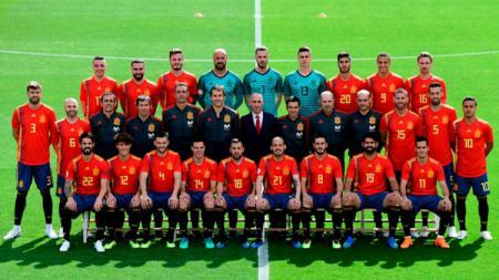 Skuat Spanyol di Piala Dunia 2018. - INDOSPORT