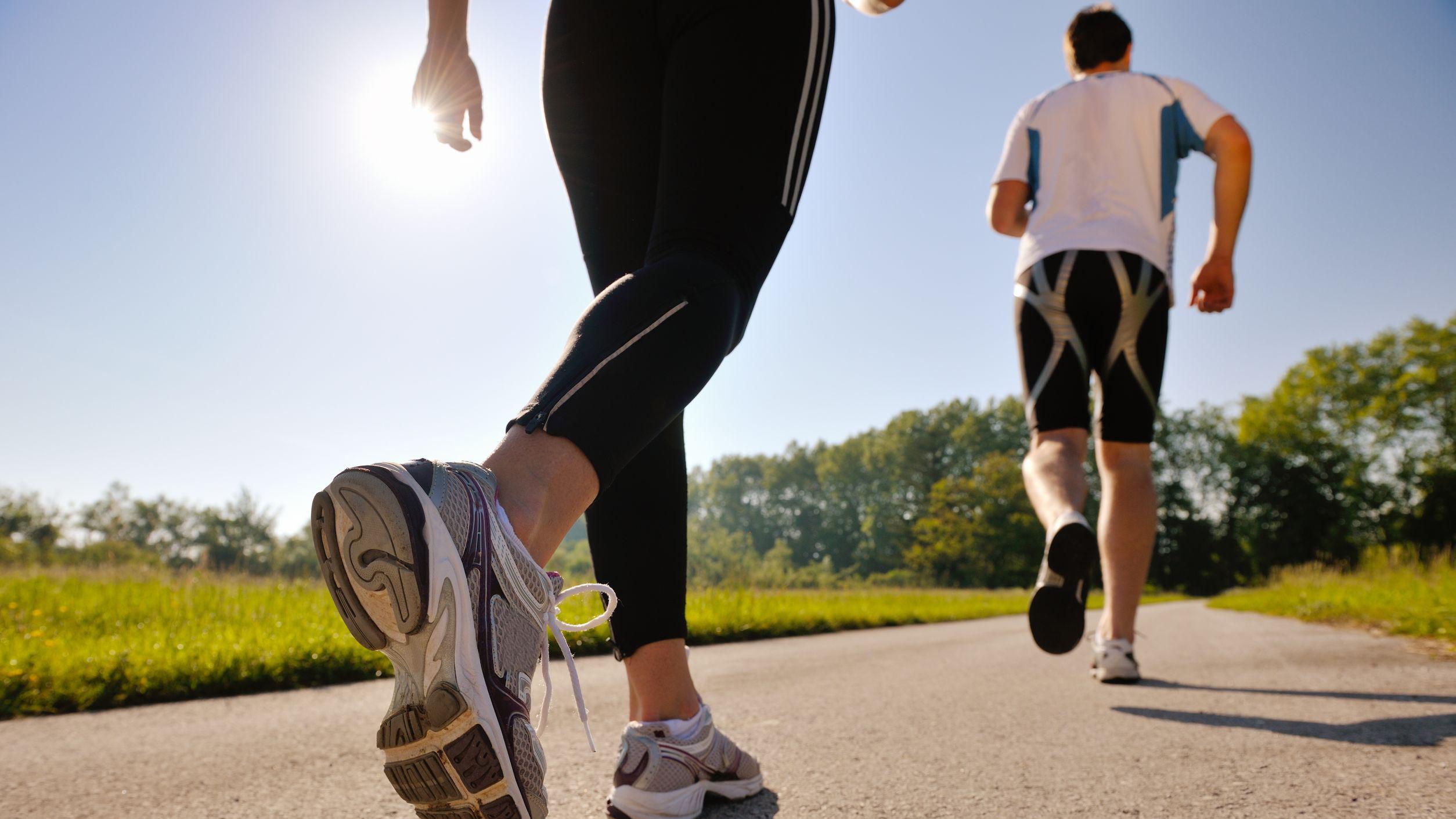 Ilustrasi Jogging. Copyright: 99.co