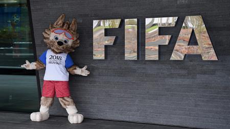 Zabivaka, maskot Piala Dunia 2018 di Rusia. - INDOSPORT