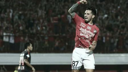 Gelandang Bali United, Stefano Lilipaly. - INDOSPORT