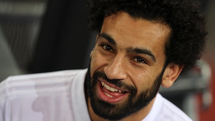 Mohamed Salah, striker Liverpool dan Timnas Mesir. Copyright: INDOSPORT
