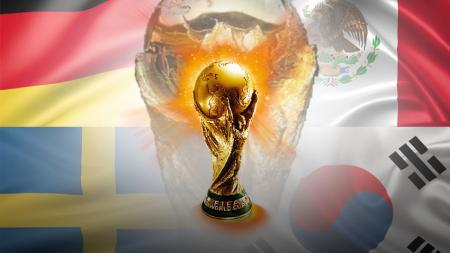 Piala Dunia Grup F Jerman, Meksiko, Swedia, dan Korea Selatan. - INDOSPORT