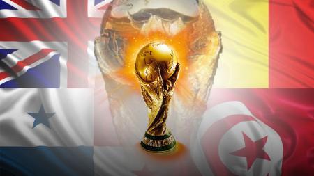 Piala Dunia 2018 Grup G terdiri dari Inggris, Belgia, Panama, dan Tunisia. - INDOSPORT