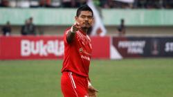 Bambang Pamungkas, pemain Persija Jakarta.