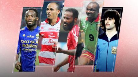 5 Bintang Piala Dunia yang Pernah Bermain di Liga Indonesia - INDOSPORT