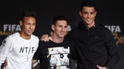 Cristiano Ronaldo tak selevel dengan Lionel Messi dan masih berada dibawah tingkat Neymar sebagai pemain terbaik dunia.