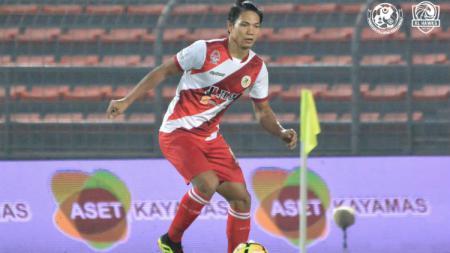 Pemain Kuala Lumpur FA Ahmad Jufriyanto. - INDOSPORT