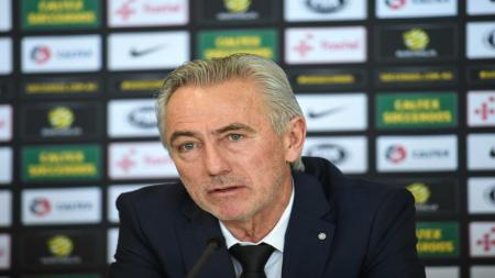 Pelatih Uni Emirat Arab, Bert van Marwijk. - INDOSPORT