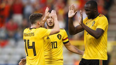 Berikut lima pemain terbaik Belgia yang pernah merumput di Liga Inggris. - INDOSPORT