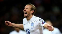 Indosport - Harry Kane bersama Timnas Inggris.