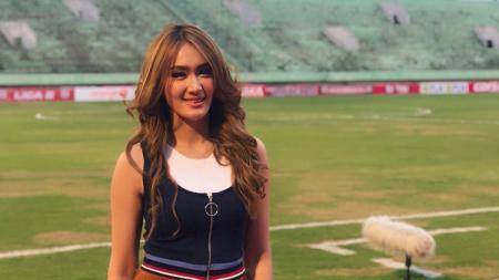 Centil di Depan Stadion Jakabaring, Intan Saumadina: Masih Kuat Puasa? - INDOSPORT