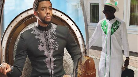 Menuju Rusia, para pemain Nigeria menggunakan baju yang sama dengan baju Wakanda - INDOSPORT