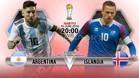 Prediksi Argentina vs Islandia - INDOSPORT