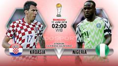 Indosport - Prediksi Kroasia vs Nigeria