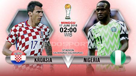 Prediksi Kroasia vs Nigeria - INDOSPORT