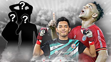 5 Pemain Persija Jakarta yang kemungkinan akan dicoret. - INDOSPORT