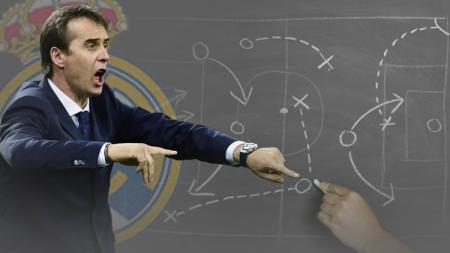 Julen Lopetegui yang resmi jadi pelatih baru Real Madrid. - INDOSPORT
