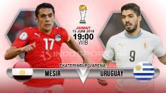 Indosport - Mesir vs Uruguay.