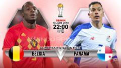 Indosport - Belgia vs Panama.