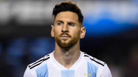 Lionel Messi, pemain Timnas Argentina. - INDOSPORT