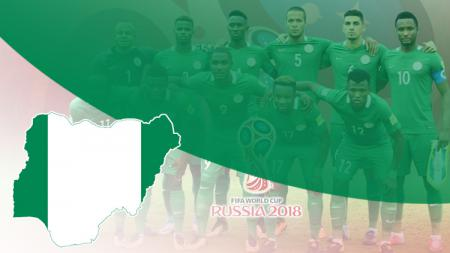 Timnas Nigeria di Piala Dunia 2018. - INDOSPORT