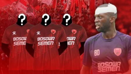 Bruce Djite, pemain PSM Makassar. - INDOSPORT