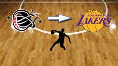 Indosport - Ilustrasi pebasket Stapac Jakarta ke LA Lakers.