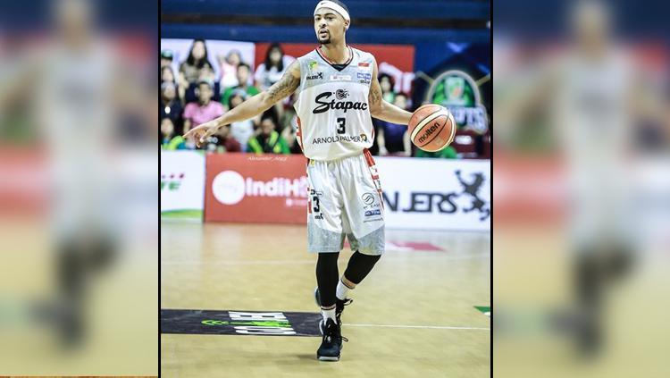 Dominic Williams, pemain megabintang Stapac Jakarta. Copyright: Instagram Dominic Williams