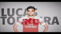 Indosport - Lucas Torreira calon rekrutan baru Arsenal.