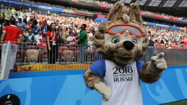 (GALERI FOTO) Euforia Upacara Pembukaan Piala Dunia 2018