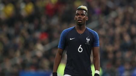 Paul Pogba, gelandang serang Timnas Prancis. - INDOSPORT