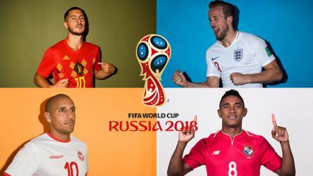 Grup G Piala Dunia 2018: Belgia, Inggris, Panama, Tunisia. - INDOSPORT