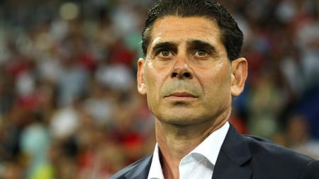 Fernando Hierro, pelatih Timnas Spanyol. - INDOSPORT