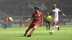 Indosport - Sandi Sute, gelandang bertahan Persija Jakarta.