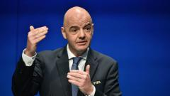 Indosport - Presiden FIFA Gianni Infantino.