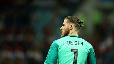 David De Gea, kiper Man United. - INDOSPORT