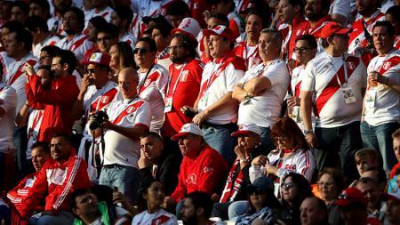 Fans Peru di Piala Dunia 2018. - INDOSPORT