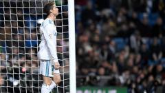 Indosport - Cristiano Ronaldo saat membela Real Madrid beberapa waktu lalu.