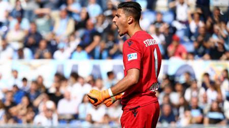 Thomas Strakosha, kiper Lazio. - INDOSPORT