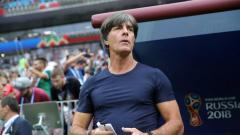 Indosport - Joachim Low tak mendampingi Timnas Jerman saat laga kualifikasi Euro 2020 melawan Belarusia, Minggu (09/06/19).