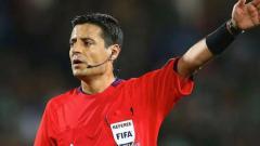 Indosport - Wasit pemimpin laga Jerman vs Meksiko di Piala Dunia 2018, Alireza Faghani.