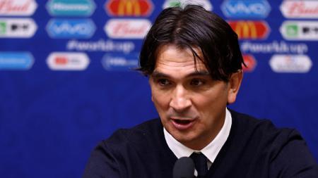 Zlatko Dalic, pelatih Timnas Kroasia. - INDOSPORT