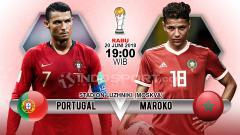 Indosport - Prediksi Portugal vs Maroko