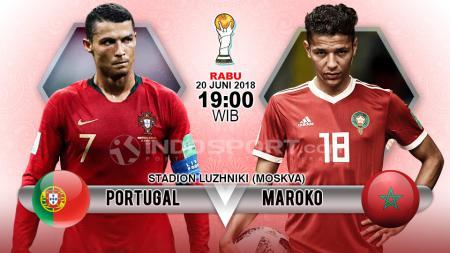 Prediksi Portugal vs Maroko. - INDOSPORT