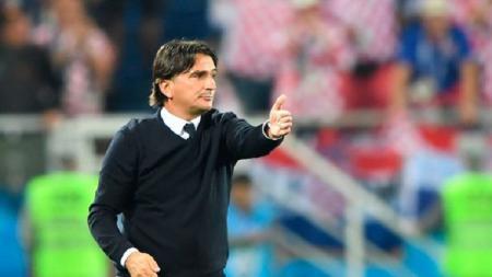 Zlatko Dalic, pelatih Timnas Kroasia di Piala Dunia 2018. - INDOSPORT