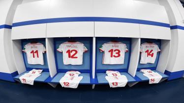Ruang ganti Timnas Tunisia sebelum laga lawan Inggris di Piala Dunia 2018. - INDOSPORT