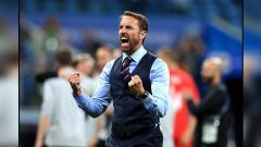 Indosport - Gareth Southgate, pelatih Timnas Inggris.