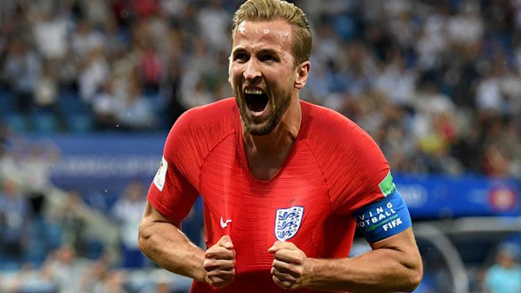 Harry Kane, striker Timnas Inggris. Copyright: Getty Images