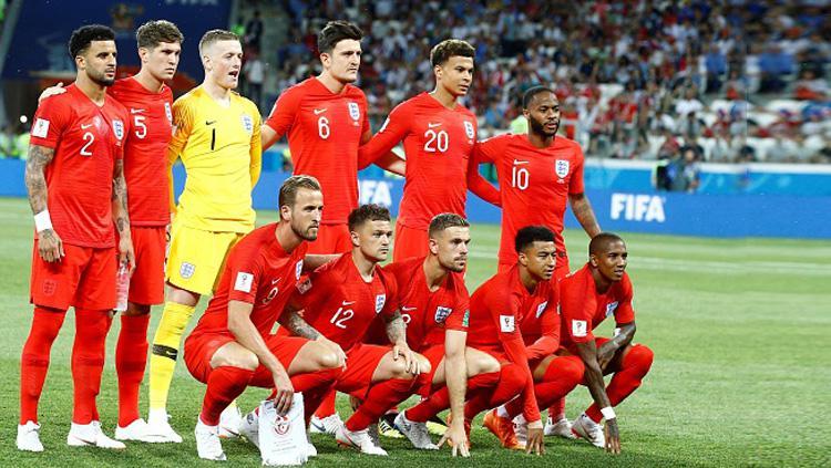 Skuat Timnas Inggris di Piala Dunia 2018. Copyright: INDOSPORT