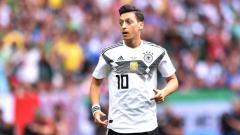 Indosport - Gelandang Tim Nasional Jerman Mesut Ozil.